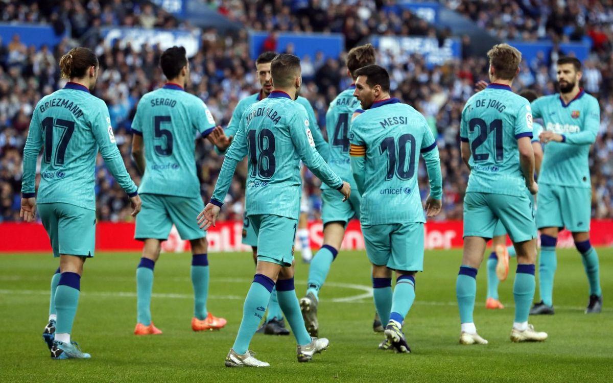 西甲第21轮重头戏,巴塞罗那硬碰瓦伦西亚,梅西领军力争双杀!