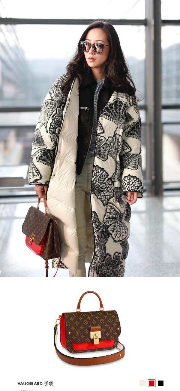 原创             韩雪真敢穿!棉袄套皮衣穿出淑女范,拎17300包尽显大小姐风范