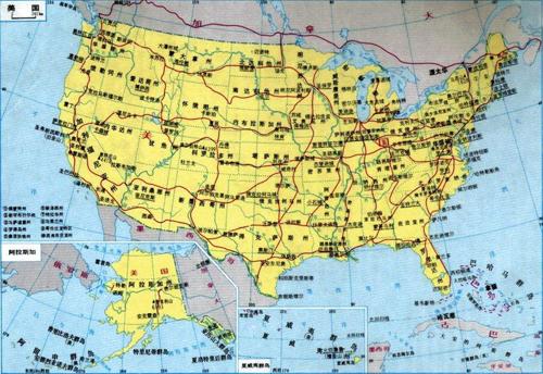 美国长期保持世界经济总量第一_美国世界地图