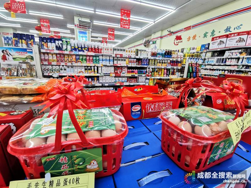 探訪成都超市:生鮮蔬菜搶手 但供應充足