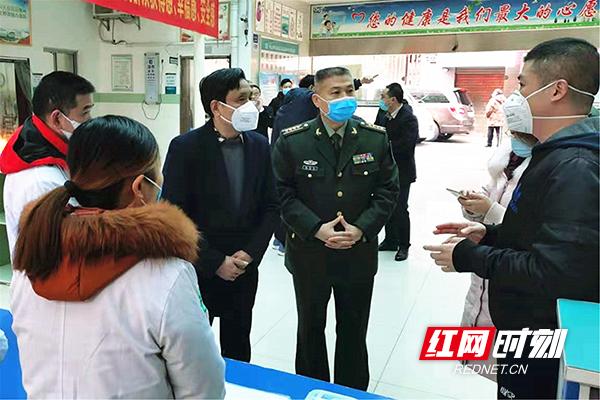 衡阳:耿保民带队督查石鼓区新型冠状病毒肺炎疫情防控工作
