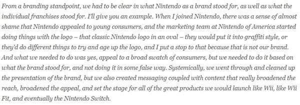 任天堂前总裁雷吉谈工作往事:曾一度制止公司更换商标