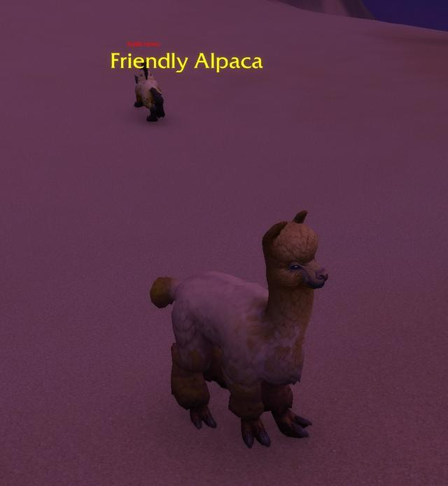 艾泽拉斯羊驼披春装《魔兽世界》奥丹姆摇身一变探索者圣地