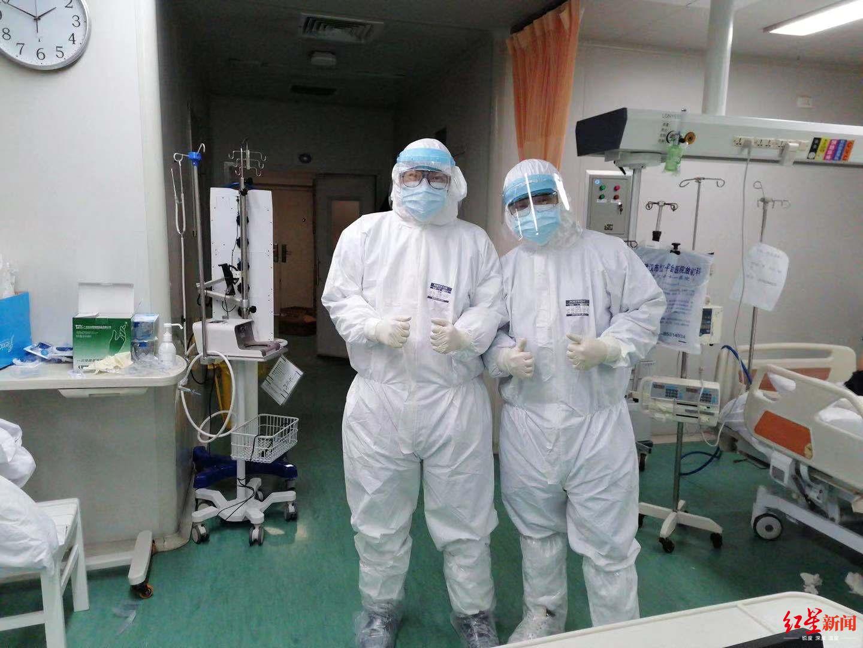 淚目!成都援漢護士日記:我們上下鋪兄弟一起奮戰在ICU