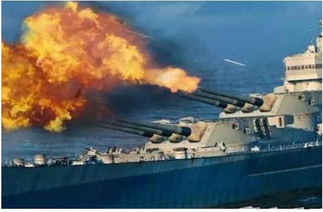 军舰中,炮弹打出来的巨大弹壳咋处理?扔海里浪费,回收又麻烦