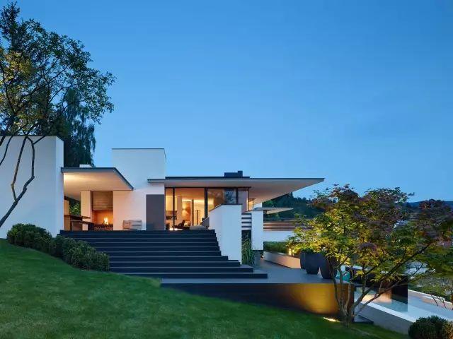 德国建筑师设计的别墅,每一处细节都让人惊艳