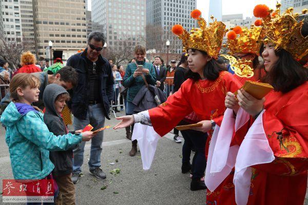 继承传统习俗 传播中华文化 海外华人欢庆鼠年春节