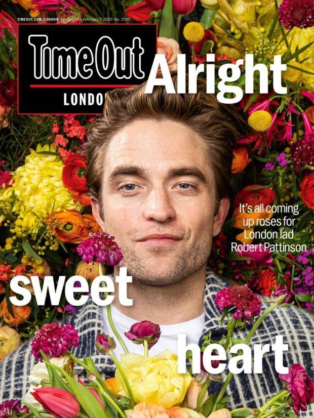 罗伯特帕丁森杂志写真花团锦簇
