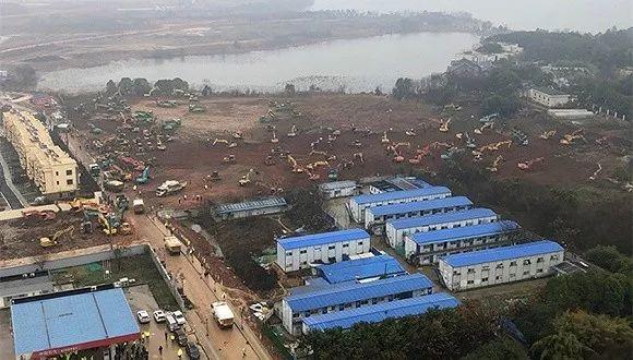 """武汉""""小汤山""""6天建成,中国基建狂魔如何创造奇迹?图片"""