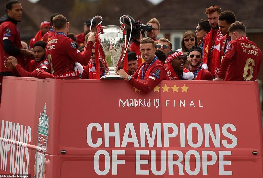 英媒:利物浦已开始筹划夺冠庆典 5月初颁奖仪式
