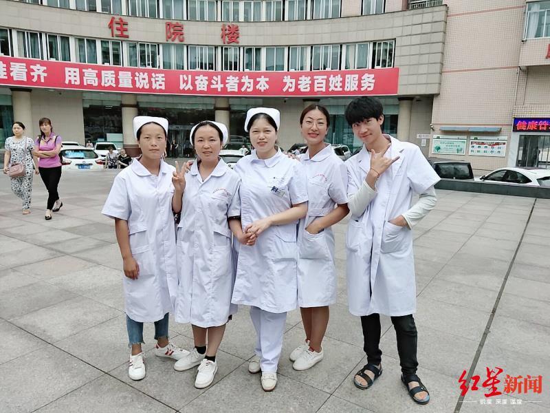 前线日记 自贡援鄂女护士:瞒着父母前往,送行时老公的话让我鼻子发酸