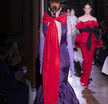 Valentino 2020春夏高级定制时装秀