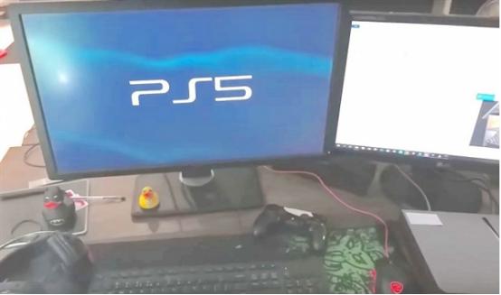 PS5开机画面曝光?玩家吐槽这是山寨机啊!