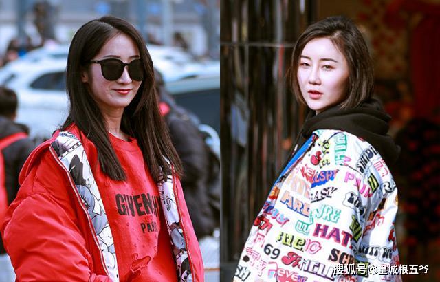 街拍:努力地去学习时尚,用最美的穿搭方式,展现最美丽的你