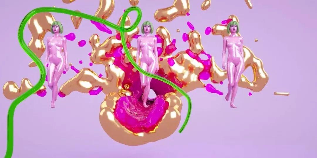 虛擬3D服裝來襲 || 時尚無性別、甚至都可以不是人!(無性別風)