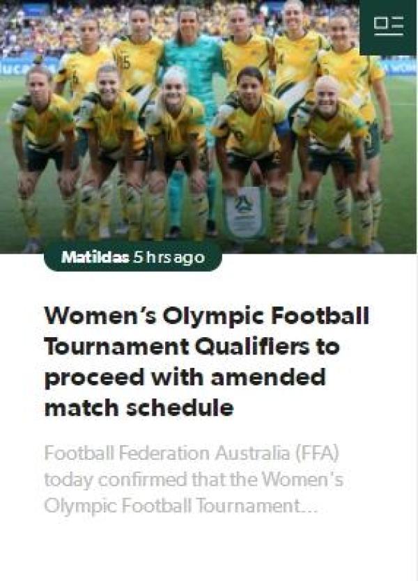 中国女足奥运预选赛延期至2月6日,澳足协感谢中国足协理解