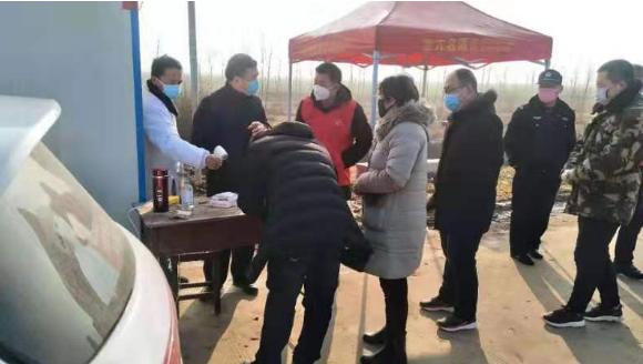 """河南正阳傅寨颂战""""疫"""""""