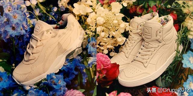 把春天悄悄藏进鞋底 PUMA x TABITHA SIMMONS 联名系列满满的花朵