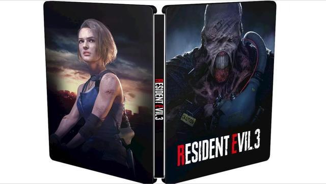 《生化危机3:重制版》获铁盒包装但里面其实是……