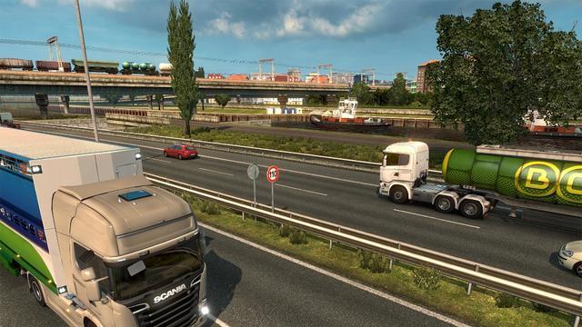 让无数玩家爱上卡车,《欧洲卡车模拟2》游戏下载