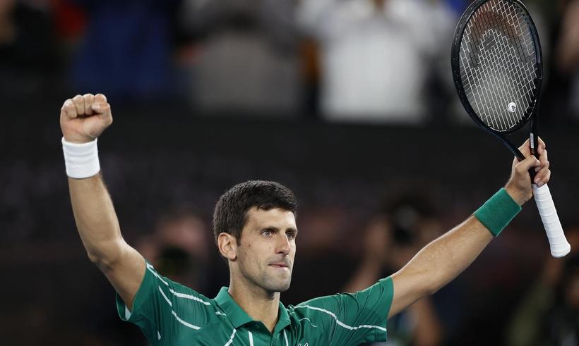 ATP排名:德约超纳达尔登顶 蒂姆升第四逼近费德勒