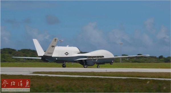 """美军在关岛部署""""人鱼海神""""无人机 将强化其侦察能力"""