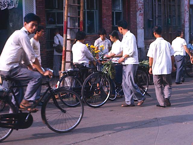 七十年代中期的广东生活,广州传统街巷,佛山大沥人民公社