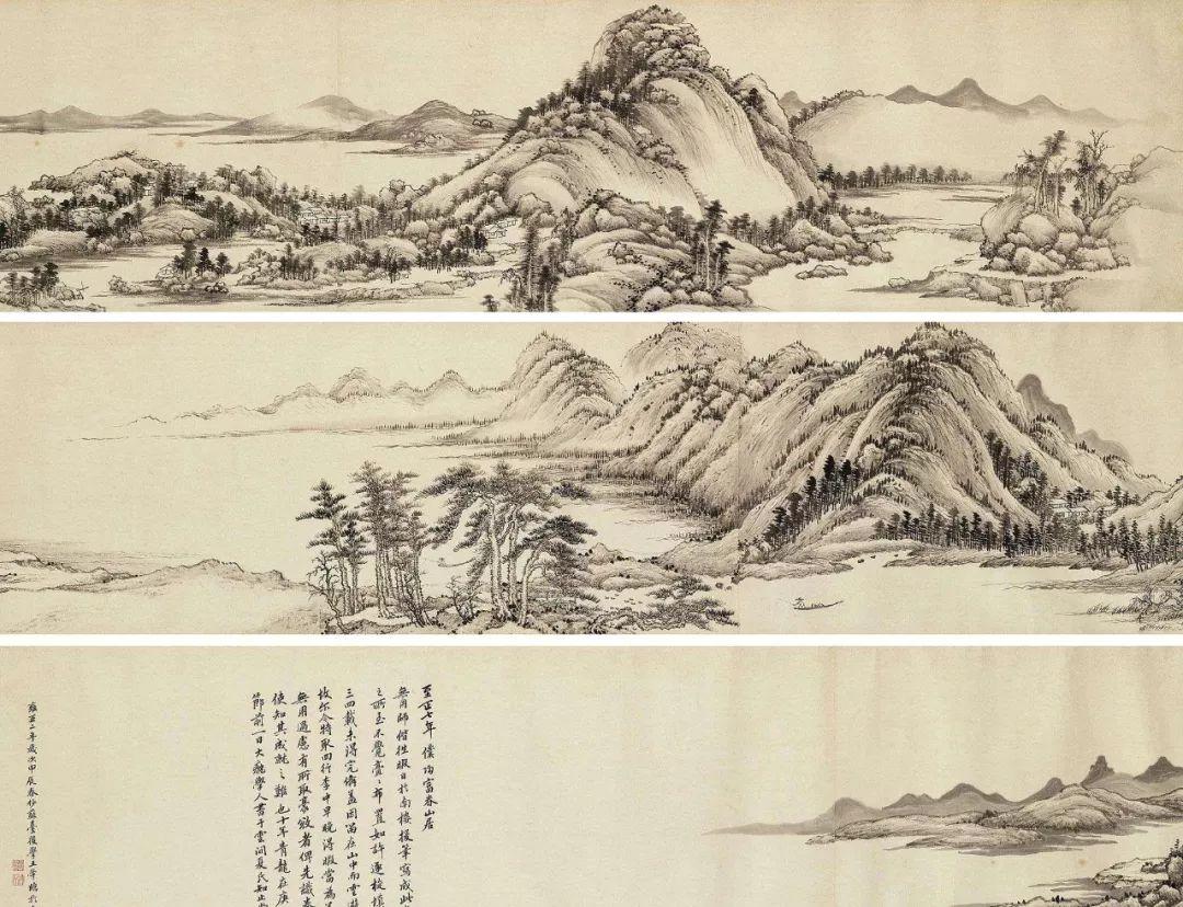 [转载]深析中国五大传世名画,高清全景