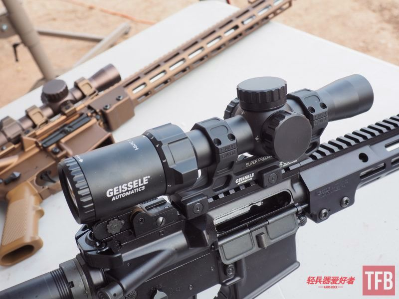 射手精確射擊瞄具:Geissele 1-6x光瞄和Super 700扳機【SHOTSHOW專題】
