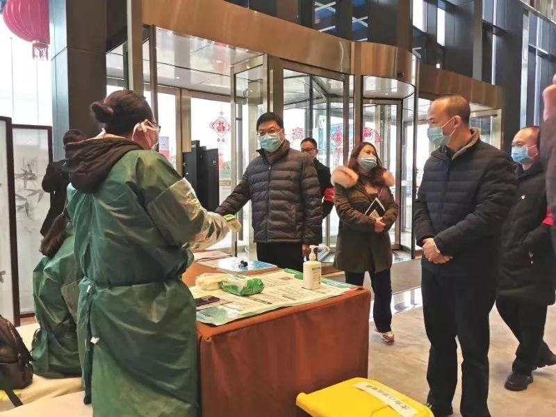 贵州省文化和旅游厅领导看望慰问一线防疫人员和集中安置点湖北籍游客