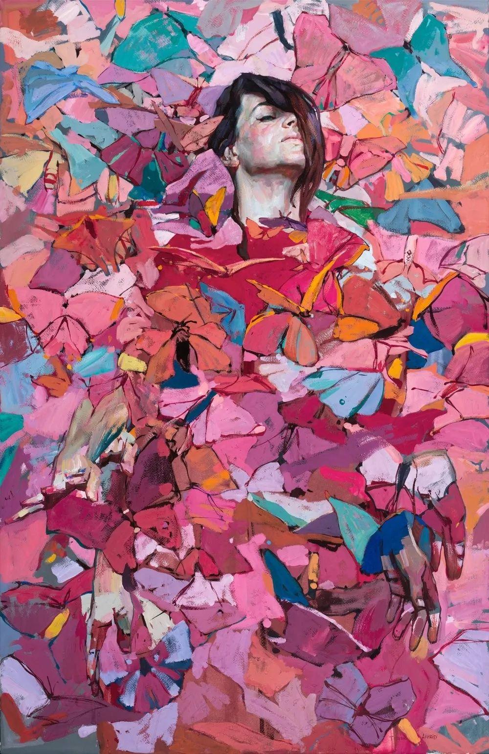 浓郁的色彩,俄罗斯艺术家帖木儿·阿赫列耶夫