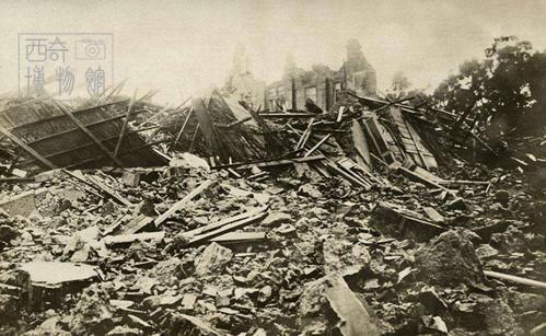 古人VS地震,整个人都不好了