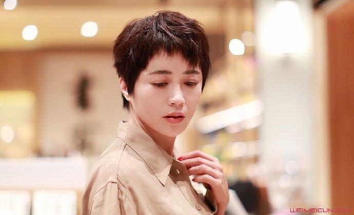 原创 王艺禅年龄多大 短发美女演员王艺禅结婚了吗老公是谁