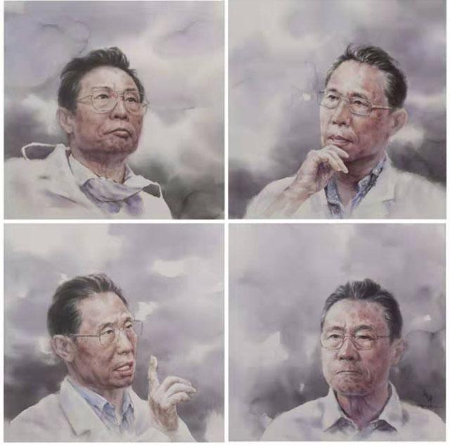 王春晖画笔下的战疫英雄