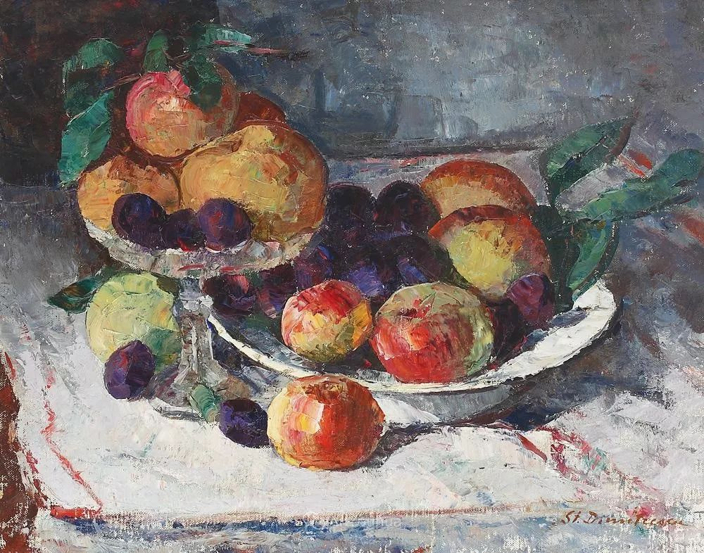 罗马尼亚画家斯蒂芬·迪米特雷斯库油画作品赏析