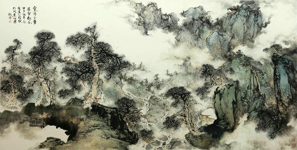 """中国山水画收藏鉴赏注重于""""心灵""""感受"""