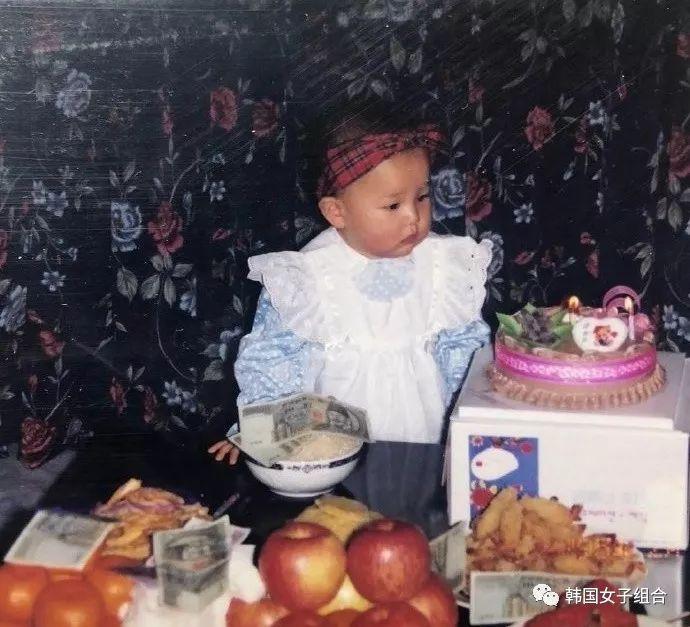 和小时候长得一模一样的女团爱豆,是很好的长大了呢!