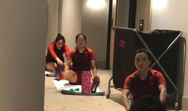 中国女足解除隔离