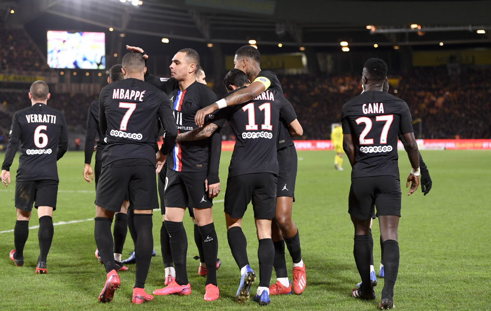 法甲-迪马利亚传射科雷尔破门 巴黎2-1豪取7连胜