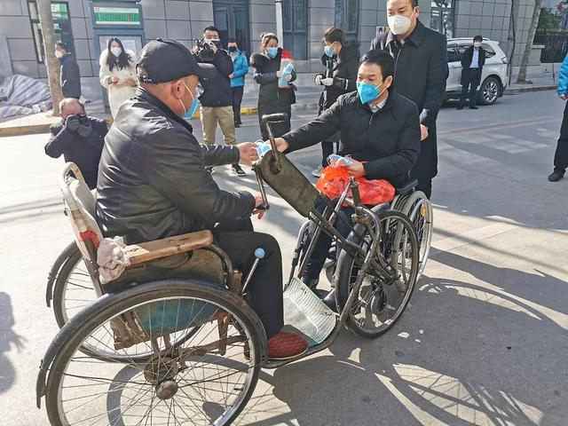 让爱和力量汇集传递,陕西残疾人积极投入疫情阻击战