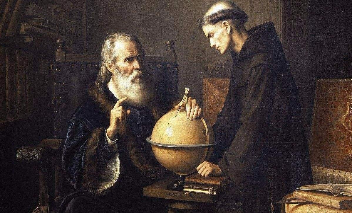 伽利略望远镜光路图