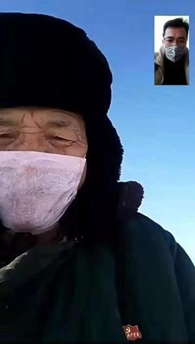伊宁县:微信捐1万元为武汉加油,伊宁县老党员翻山头找信号