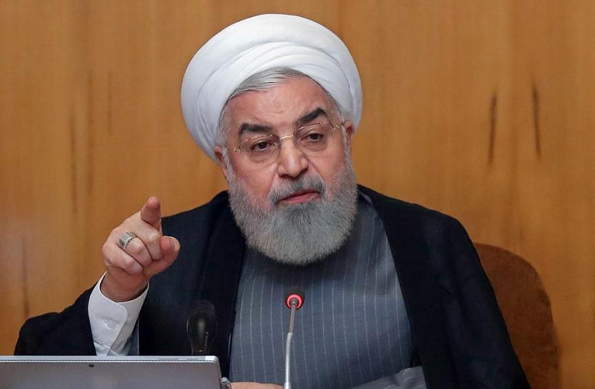 """《伊朗总统称,美国是""""恐怖分子"""",犯下了恐怖主义行为》"""