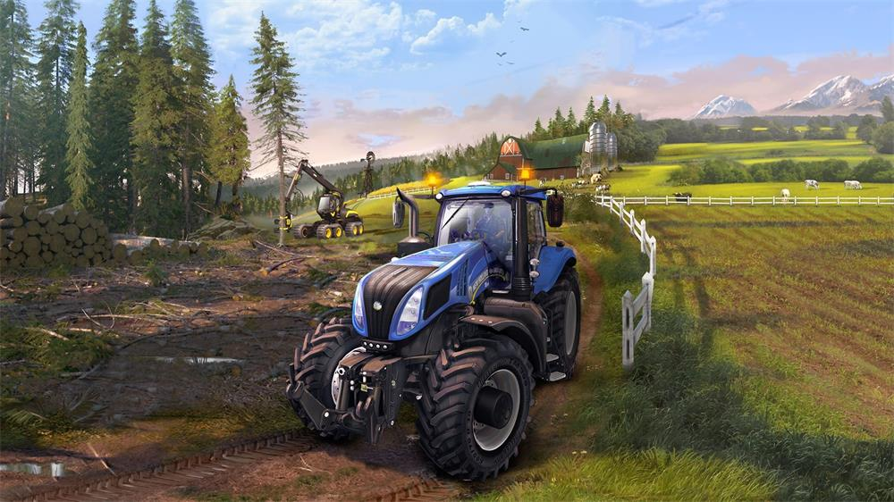 种地游戏也能搞电竞?《模拟农场》11年的始终如一_农机