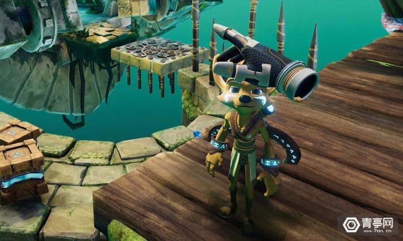 画风似神庙逃亡,新VR冒险游戏《Ven》登陆Steam