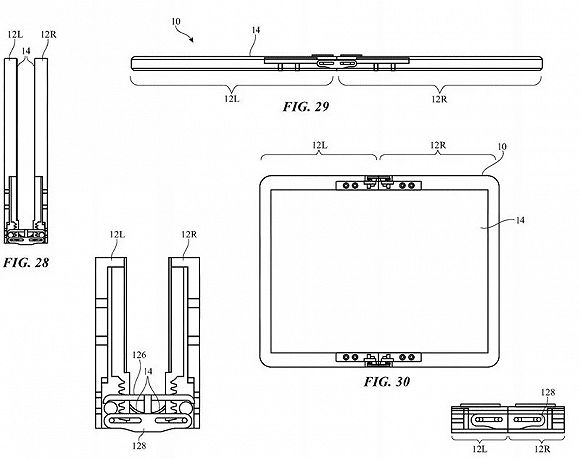 苹果折叠手机专利