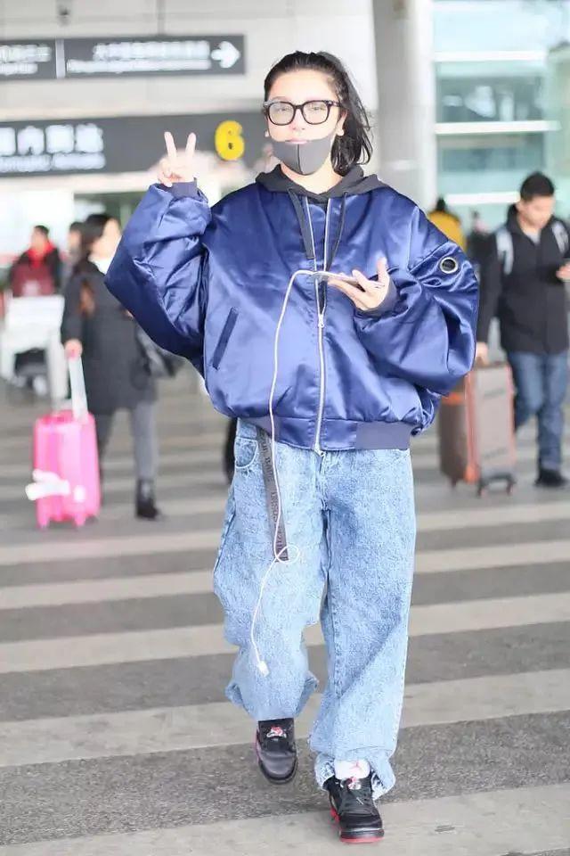 江映蓉是邋遢不是真实,油头出门没气质,阔腿裤都穿出大象腿!