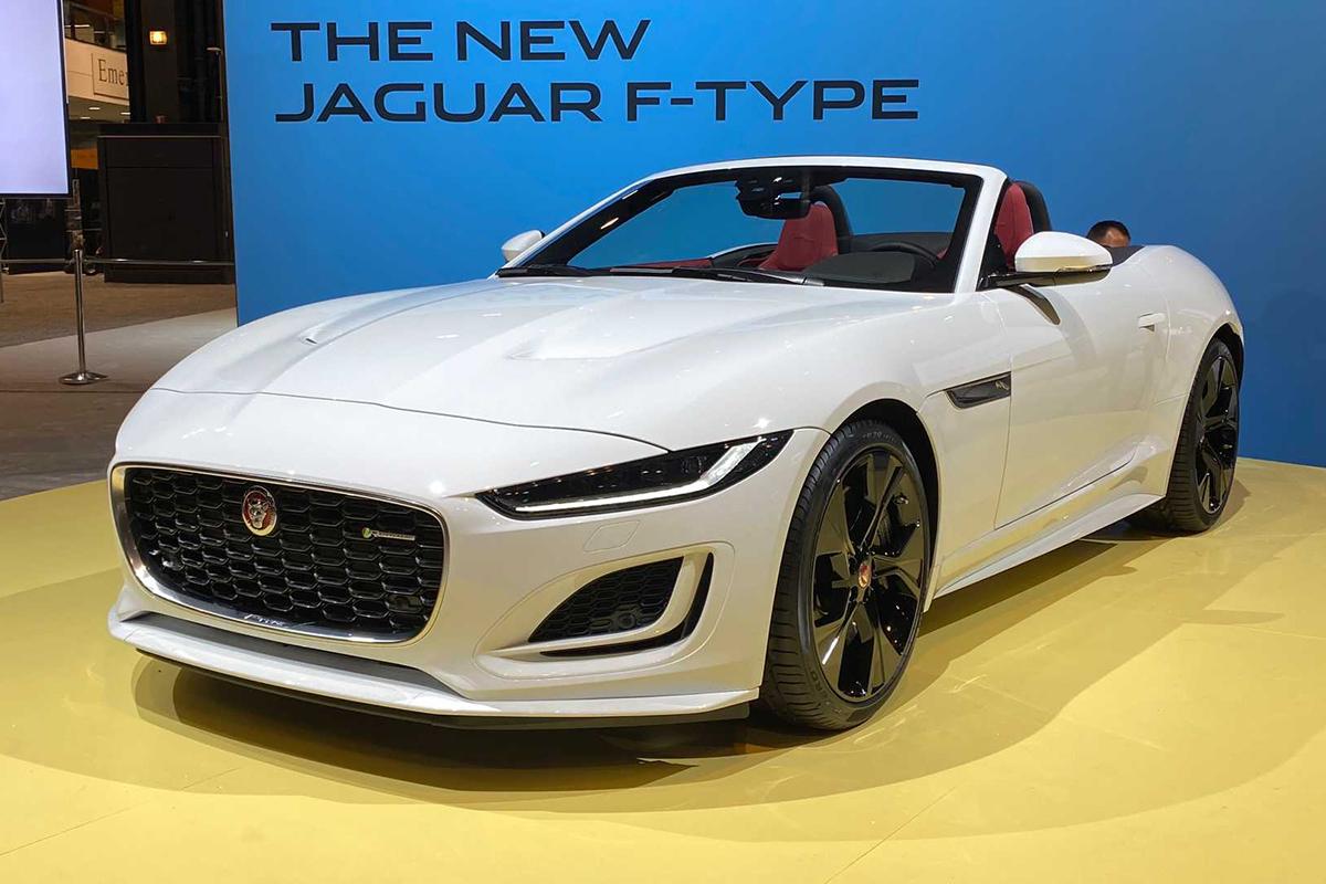2020芝加哥车展:捷豹F型新车亮相