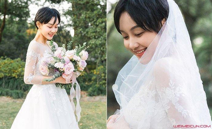 原创 孙溯梦汐男朋友是谁 其唯美婚纱照流出她结婚了吗