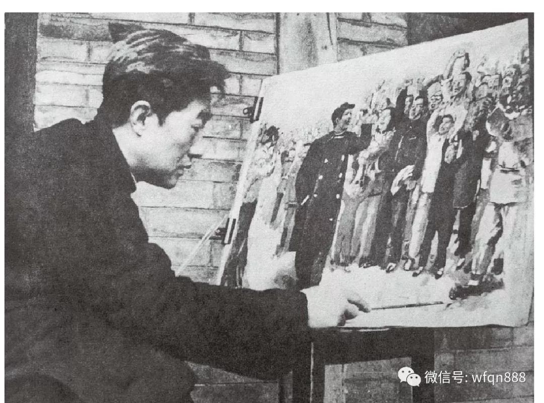 在墙角的垃圾堆的一幅画让他大为欣喜,都可以买20套四合院了,现在值50亿